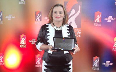 Zenaide representa o ES no Prêmio Sebrae